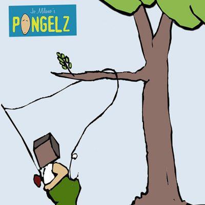 Pongelz Bilder Druck: Angler