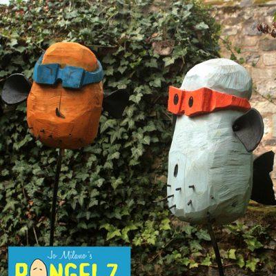 PONGELZ Skulpturen: Blobb