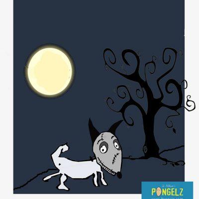Pongelz Bilder Druck: Burtondog
