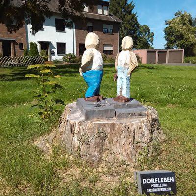 PONGELZ Skulpturen: Dorfgespraech