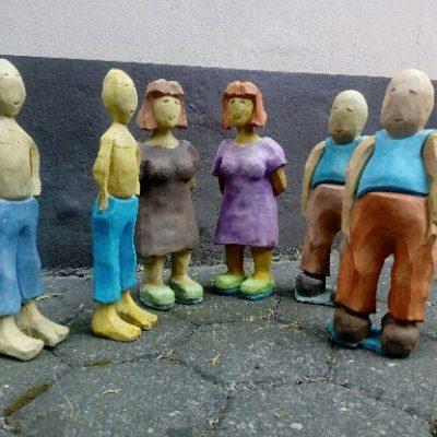 PONGELZ Skulpturen: Familee
