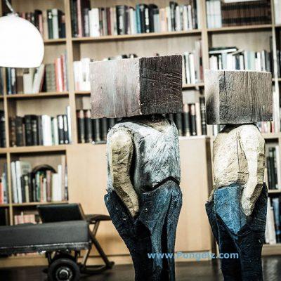 PONGELZ Skulpturen: Kisteköpp