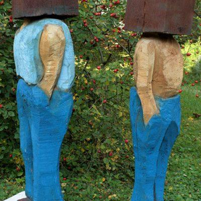 PONGELZ Skulpturen: Lolekbolek