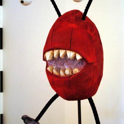 PONGELZ Skulpturen: Monster