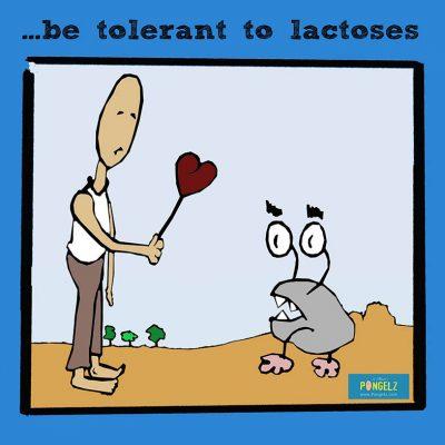 Pongelz Bilder Druck: Lactose