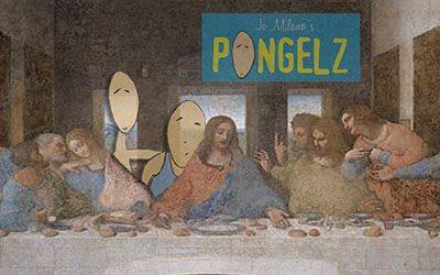 Pongelz Bilder Druck: Pongelz Abendmahl Signed
