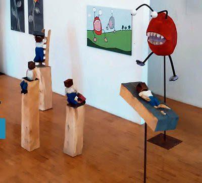 PONGELZ Skulpturen: Pongelz @ Emmerich
