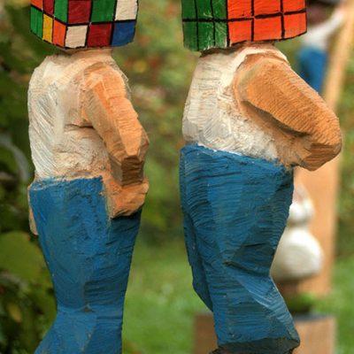 PONGELZ Skulpturen: Rubic