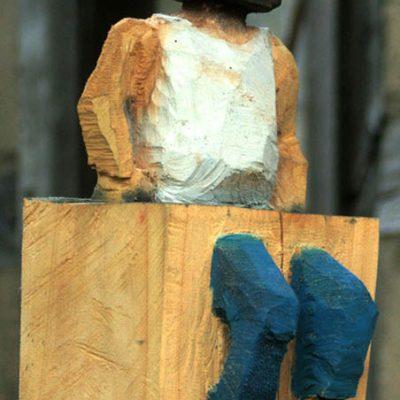 PONGELZ Skulpturen: Sitting