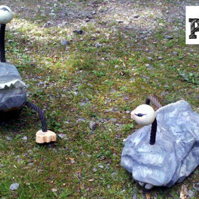 PONGELZ Skulpturen: Steinbeisser