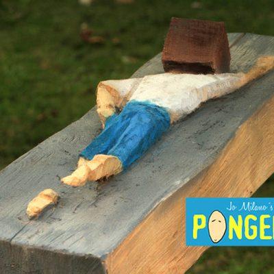 PONGELZ Skulpturen: Swimmer