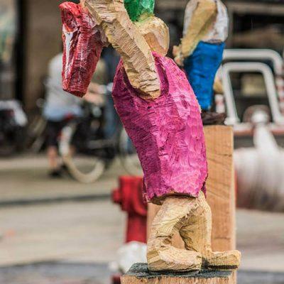 PONGELZ Skulpturen: T-bone