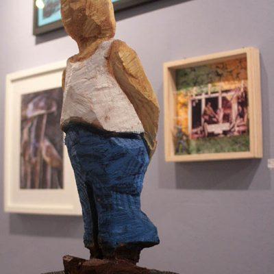 PONGELZ Skulpturen: Watch Out